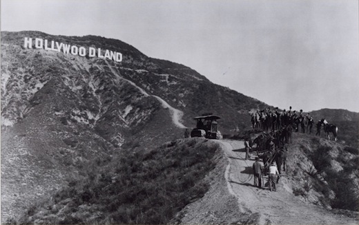 "Kadras iš 1910 m. filmo ""In Old California"""